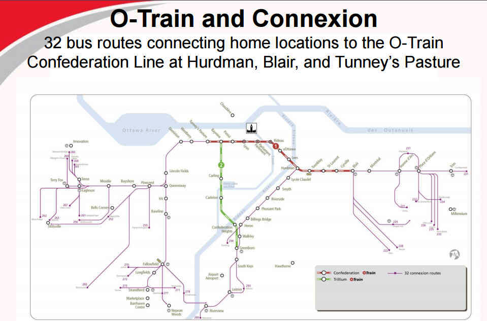 June 7, 2016 O-Train and Connexion