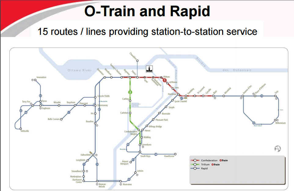 June 7, 2016 O-Train and Rapid