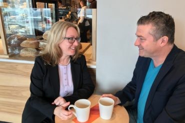 Sharing local priorities with federal by-election candidates: Liberals