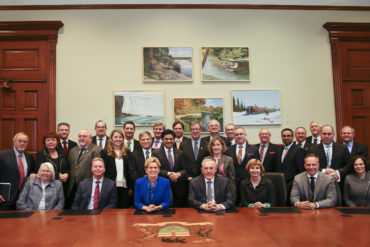 Mayor, Councillor Tierney and delegation champion high-tech growth in Ottawa during visit to Queen's Park