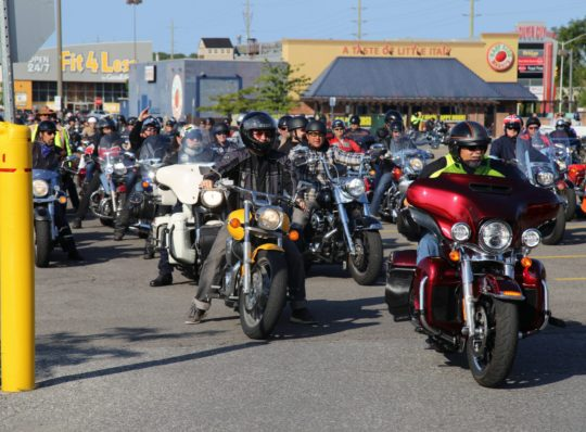 Bikers raise $22,000 for battered women
