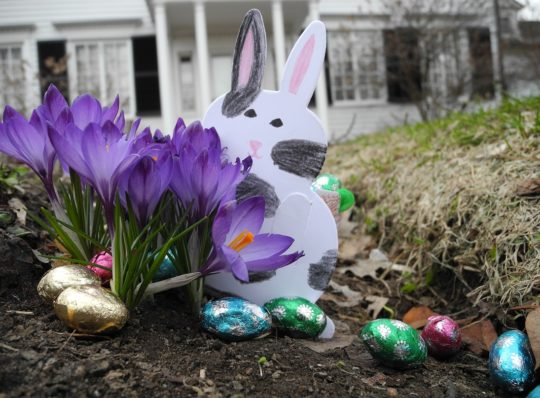 Easter activities and schedule changes