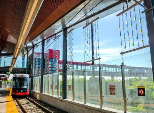 Stage 2 O-Train Light Rail Transit Project Construction Summary: East Extension  June through December 2019